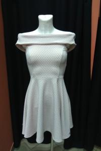 Sukienka pudrowa pudrowy róż hiszpanka Mohito XXS 32...