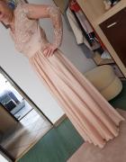 Suknia złoto beżowa EMO rozmiar M...