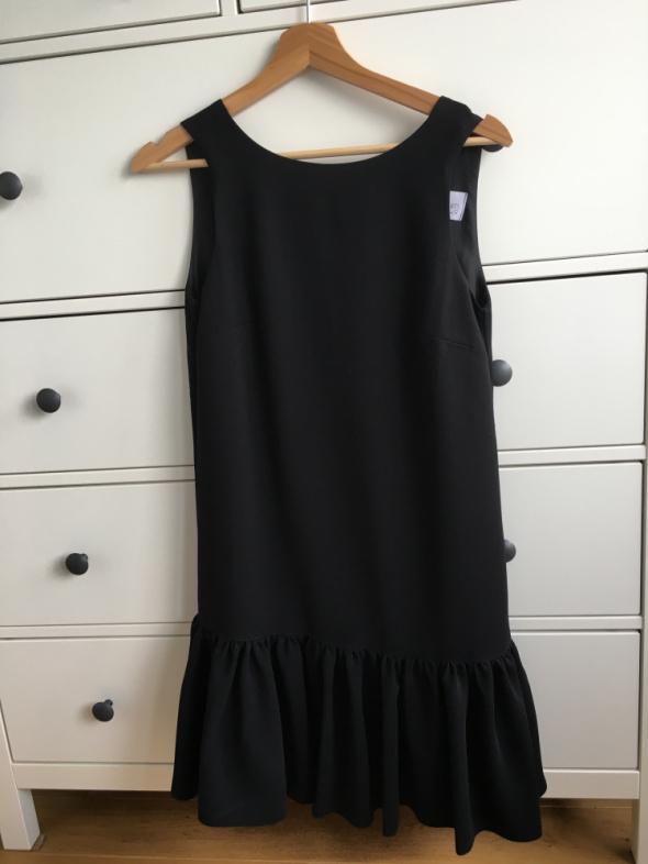 Czarna Sukienka Stone Skirt Amoret XS...