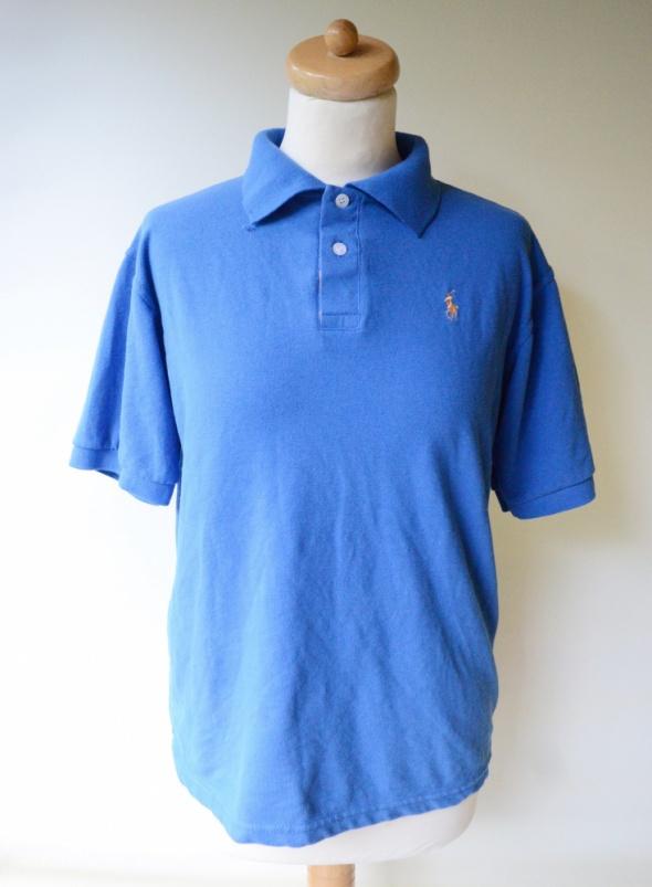 Koszulka Polo Ralph Lauren Niebieska L 40 RL