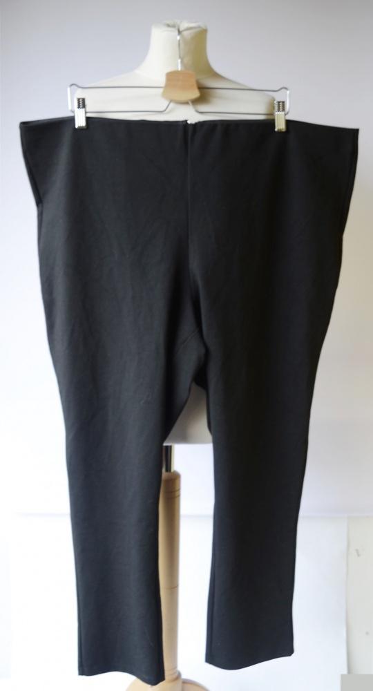 Spodnie Czarne H&M Tregginsy 3XL 46 XXXL