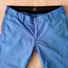 Kobaltowe Spodnie Chino Lee S 27 31