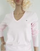 Różowy sweter Tommy Hilfiger...