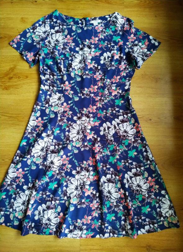 Sukienka kwiaty Mansoon XL 42