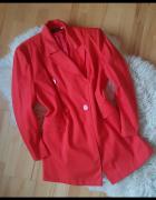 Vintage Czerwony żakiet marynarka 42...