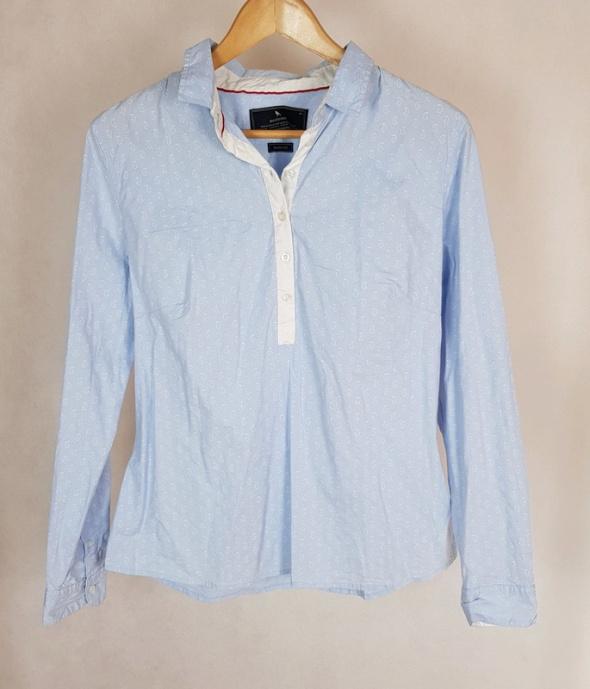 Błękitna koszula w białe wzory Medicine 42...