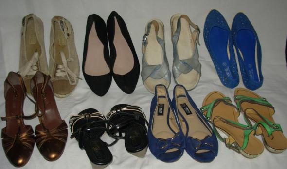 Zestaw letnich butów 37
