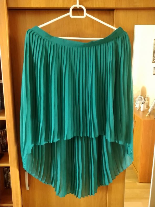 Zielona spódnica ZARA L