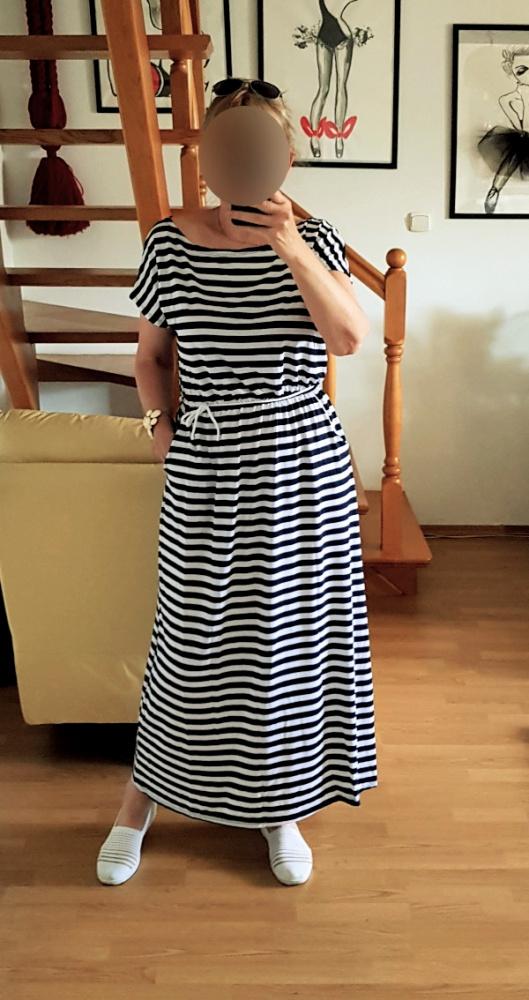 Sukienki z kieszeniami dresowe oversize pasują na 42 44 46