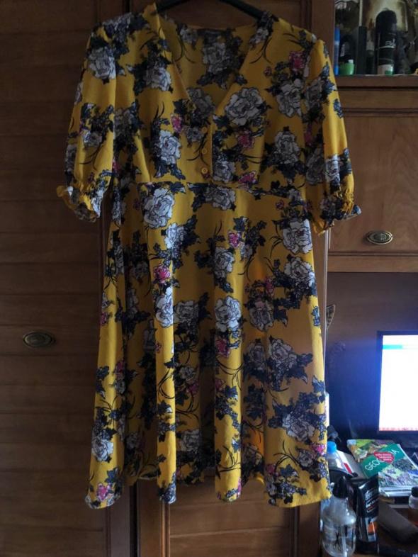 Primark śliczna sukienka dla lekko puszystej 44
