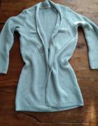 Sweter szaro srebrny Orsay