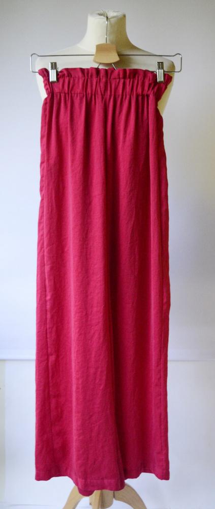 Spodnie Czerwone Mango XS 34 Proste Nogawki Modne