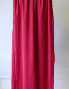Spodnie Czerwone Mango XS 34 Proste Nogawki Modne...