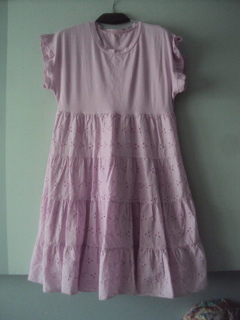 nowa liliowa sukienka