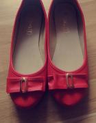 Czerwone baleriny nowe...
