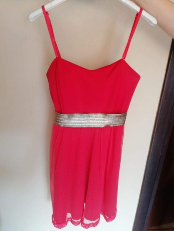 Czerwona sukienka nowa
