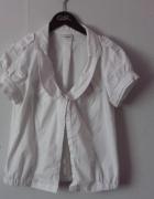 Biała koszula z krótkim rękawem...