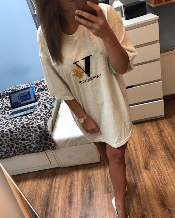 Sportowa sukienka tshirt XL