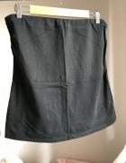 Czarny top bez ramiączek L 40 XL 42 elastyczny klasyczny esmara...