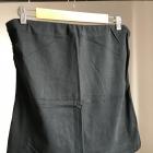 Czarny top bez ramiączek L 40 XL 42 elastyczny klasyczny esmara