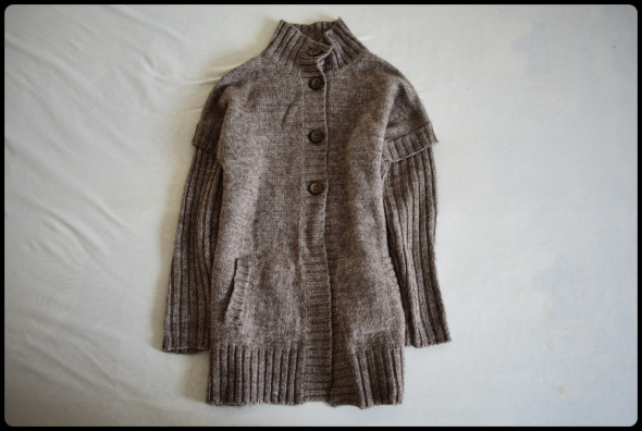 BIAGGINI gruby ciepły sweter wełna i alpaka rozmiar 40 L