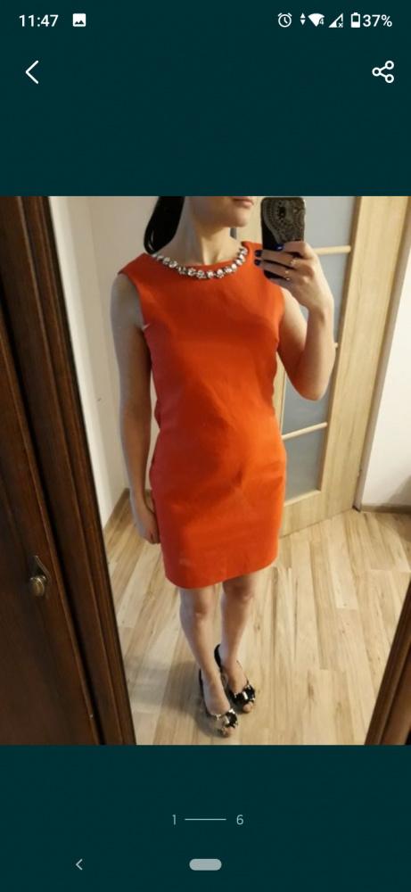 Suknie i sukienki Czerwona sukienka 38