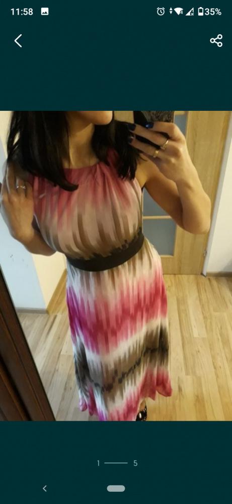 Sukienka długa maksi 36
