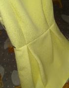 Śliczna sukienka 36 wesele okazja uroczystości koronka żywe kol...