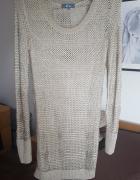 Sweter ażurowy 38 M...