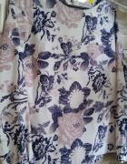 Piękna bluzeczka 36 kwiaty lato zwiewna wzory kolory...