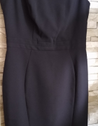 Sukienka czarna 36 elegancka wesele chrzest uroczystosc inne...