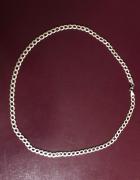 Śliczny srebrny łańcuszek 925...