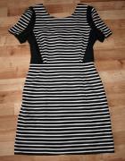 Sukienka w paski M L...