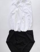 Strój Kostium Kąpielowy New Look M 38 NOWY Czarny Biały...