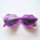 NOWE fioletowe okulary przeciwsłoneczne usta pink up vintage
