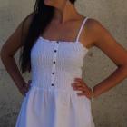 letnia biała sukienka