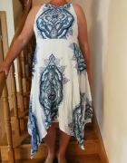 sukienka w etniczne wzory...