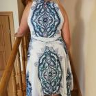 sukienka w etniczne wzory