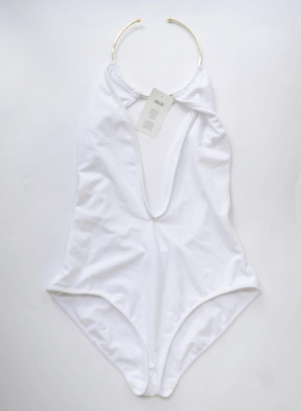Strój Kostium Kąpielowy Nowy Choker M 38 ASOS Biel
