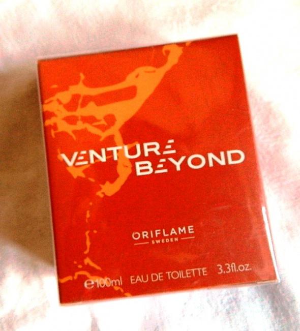 Venture Beyond woda toaletowa męska Oriflame