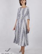 Śliczna sukienka koktajlowa na wesele De Marco...