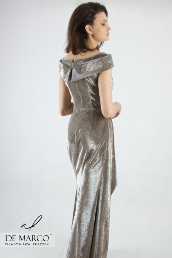 Suknie i sukienki Nowoczesna stylizacja dla odważnych kobiet De Marco