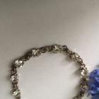 Srebrna bransoletka z cyrkoniami