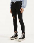 Spodnie czarne rurki bershka...