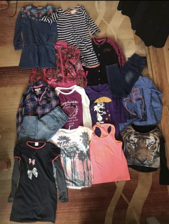 zestaw ubrań dla dziewczynek