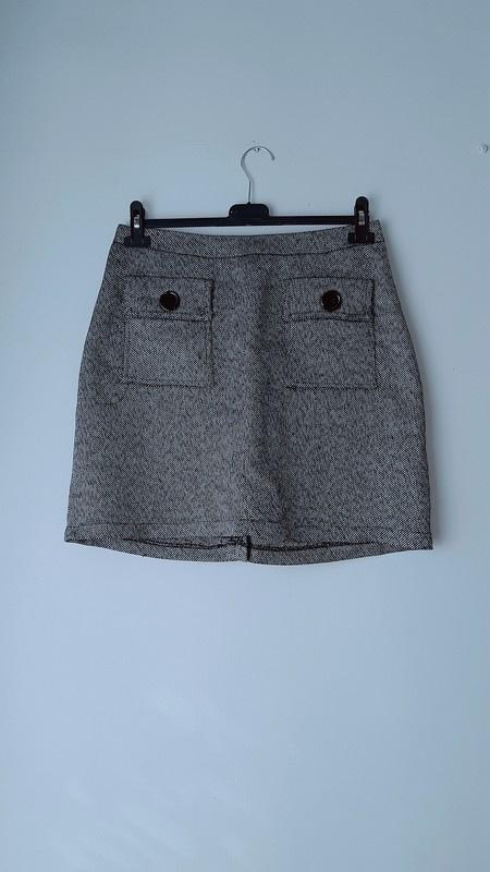 Idealna siwa spódniczka M...
