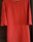 Zniewalająca czerwień przepiękna sukienka Marks and Spencer...