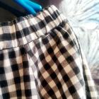 Cold Shoulder pepitka sukienka lub tunika M jak nowa