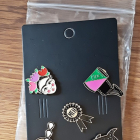 NOWY Komplet pinów Frida Kahlo i inne