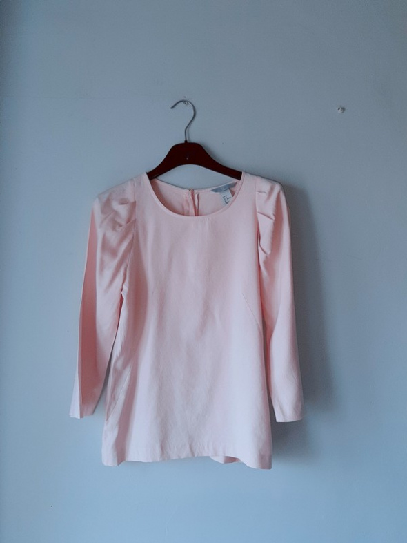 Idealna różowa pudrowa bluzka...